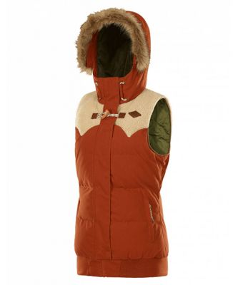 Picture Womens Holly Jacket sample Colour: BRICK / SIZE: M