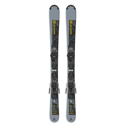 Salomon Ski Set E Distance 125 + M10 GW L90 Colour: BLACK/YELLOW / LENGTH: 125