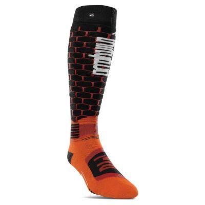 ThirtyTwo ASI Merino Elite Sock Colour: ORANGE / SIZE: S/M