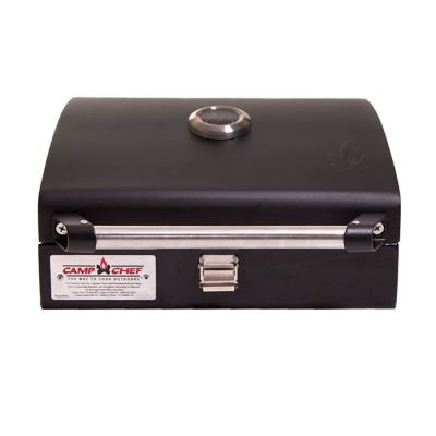 Vango Camp Chef BBQ Grill Box Colour: BLACK