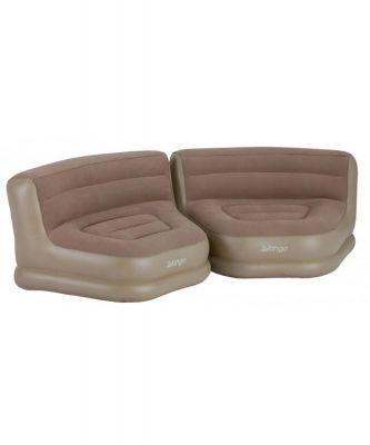 Vango Inflatable Relaxer Chair Set (pair) Colour: NUTMEG