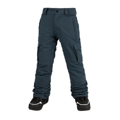 Volcom Cargo Insulated Pant Boys Colour: BLUE / SIZE: 12 Y