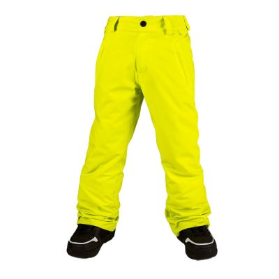 Volcom Explorer Insulated Pant Boys Colour: YELLOW / SIZE: 12 Y