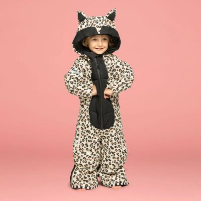 WeeDo Leo Snowsuit Colour: ANIMAL PRINT / SIZE: 4-6
