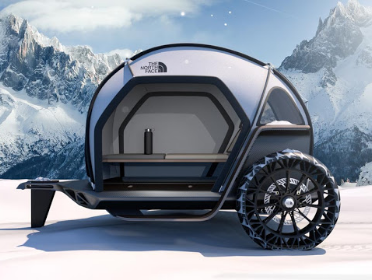 Futurelight Fabrics Shape The Bmw And North Face Concept Camper