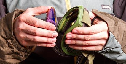 Interchangeable Lens Ski Goggle